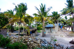 Small village houses in Mozambique Stock Photography