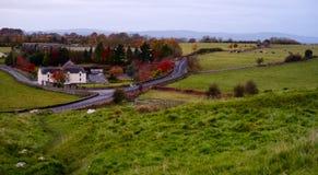 Small village in Ireland. Stock Image
