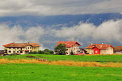 Small village in Italy Stock Photography