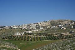 Small village. Jordan Stock Image