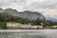 Small village on Lake Como near Bellagio Royalty Free Stock Photography