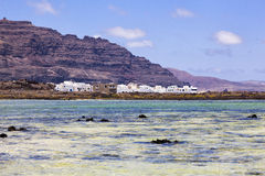 Small village in Lanzarote, Canary islands, Spain Stock Photos