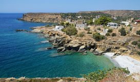 Small village in Mani. Beautiful small village Kiparisos in Mani , Greece Stock Photos