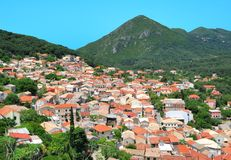 Small village with meditteranean architecture Royalty Free Stock Images