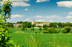 Small village in Moravia, Czech Republic Stock Photos