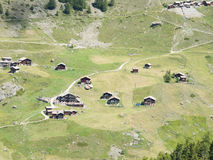 Small village near Zermatt Stock Photography
