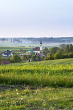 Small village on Polish countryside Stock Image