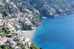 The small village of Positano. Amalfi coast, Italy Stock Photos