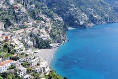 The small village of Positano. Amalfi coast, Italy stock photos