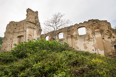 Small village of Roman times, Italy Stock Photography