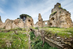 Small village of Roman times, Italy Royalty Free Stock Photos