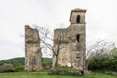 Small village of Roman times, Italy Royalty Free Stock Image