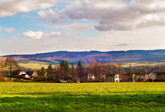 Small village in Scottish Lowlands Royalty Free Stock Photo