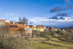 Small village of Seitenroda Stock Photo