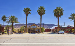Small village in Shoshone area, USA Royalty Free Stock Photos