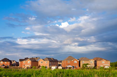 Small village Royalty Free Stock Images
