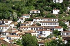 Small Village,Sirince, Smyrna, Turkey Stock Photo