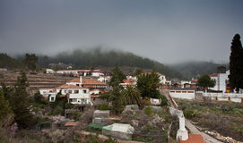 Small village in Tenerife Royalty Free Stock Photos