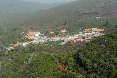 Small village on Tenerife, Spain stock photo