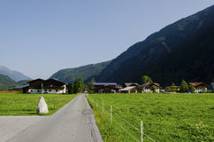 Small village in Tirol Stock Photo