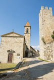 Small village in Tuscany Royalty Free Stock Image