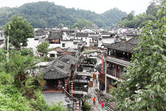The small village Xiao Likeng, China Royalty Free Stock Photography