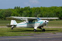 Small vintage airplane Royalty Free Stock Photography