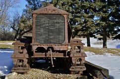 Small vintage bulldozer Royalty Free Stock Photo