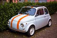 Small vintage car - fiat 500 Stock Photos