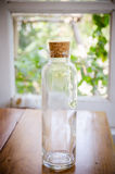 Small vintage cork bottles Royalty Free Stock Images
