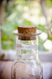 Small vintage cork bottles Royalty Free Stock Photography