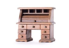 Small vintage desk Stock Photography
