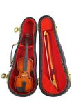 Small violin Stock Images
