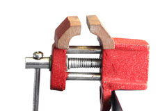 Small vise Stock Photo