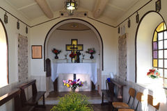Small votive chapel of war martyrs in Palestrina - Rome Stock Photo