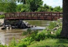 Small Walking Bridge Royalty Free Stock Photo