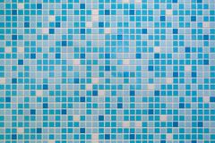 Small wall mosaic tile marine theme royalty free stock photography