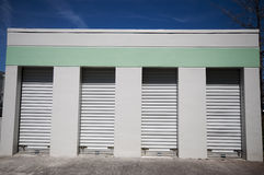 Small Warehouse Storage Units Stock Images