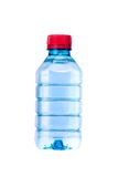 Small water bottle isolation on white Royalty Free Stock Images
