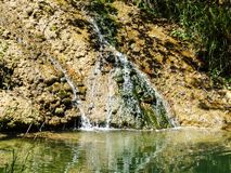 Small Water Fall Royalty Free Stock Images