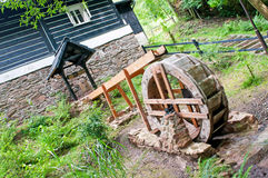 Small Water Mill Royalty Free Stock Photo
