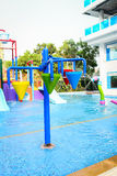 Small water park playground. Stock Photography