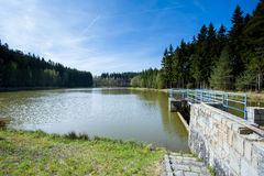 Small water reservoir Royalty Free Stock Image