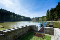 Small water reservoir Stock Image