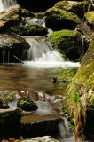 Small waterfall Stock Image