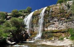 Small Waterfall. In eastern Turkey Stock Image