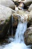 Small Waterfall. Between rocks Stock Image