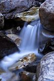 Small waterfall. A quiet small waterfall Stock Image