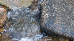 Small waterfall. Royalty Free Stock Images