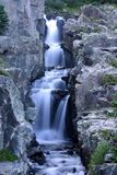 Small Waterfall. In the Rocky Mountains, Colorado, U.S.A royalty free stock photography